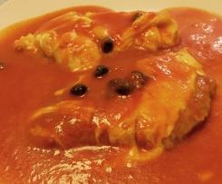 scaloppine Vitello alla pizzaiola