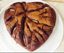 Variante di Torta Pere e Cioccolato