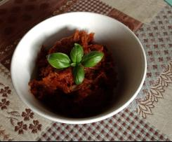 Pesto pomodori secchi e basilico ~ Contest pesto e condimento ~