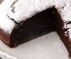 torta cioccolato arancia e cannella
