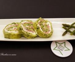 """Spiraline di asparagi """"Contest 7 ingredienti"""""""
