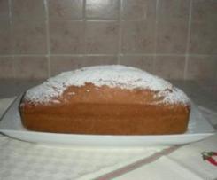Plum cake alla vaniglia