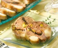 Sella di coniglio in salsa tartufata