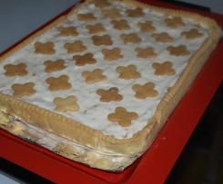 Crostata crema di latte e amaretti