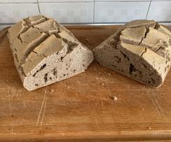 Pane grano saraceno e lievito madre