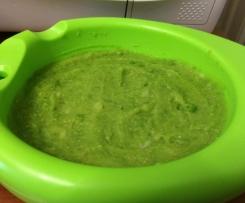 Purea di piselli e patate (bimbi dai 9 mesi)