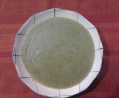 Crema vellutata di broccoli, facile e semplice