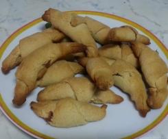 Biscotti cornetti senza uova senza latte
