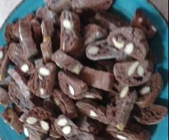 Cantucci cioccolattosi