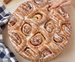 Torta cinnamon rolls