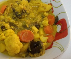 Verdure miste al curry e yogurt (ricetta indiana)