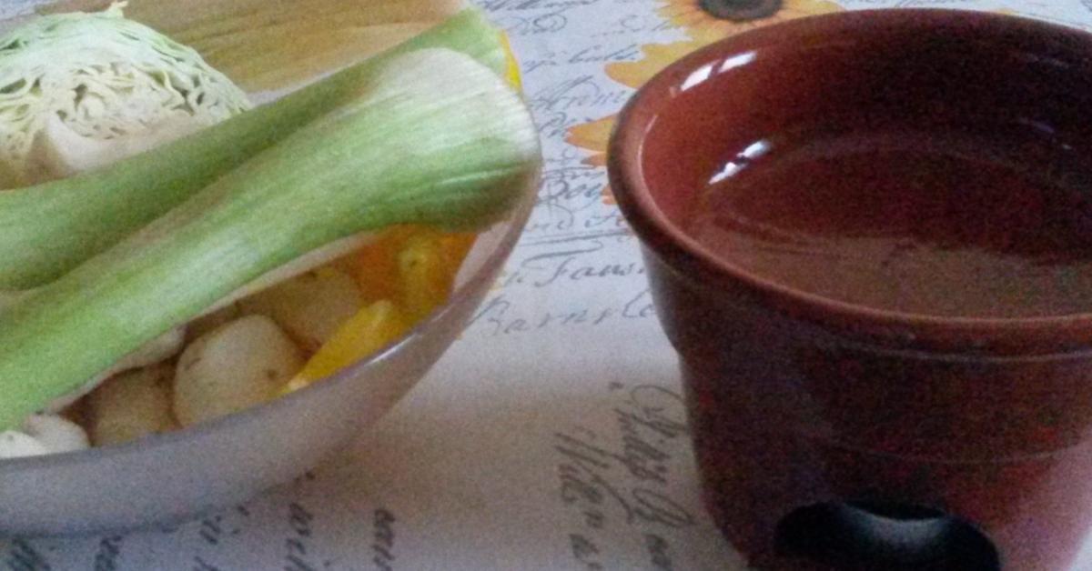 Bagna cauda senza odore un ricetta creata dall 39 utente alma59 questa ricetta bimby potrebbe - Bagna cauda bimby ...