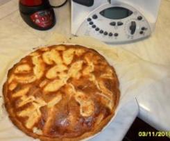 crostata di mele alla crema di mascarpone dal libro oggi frutta