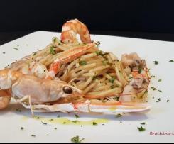 """Spaghetti di mare """"Contest pasta risottata"""""""