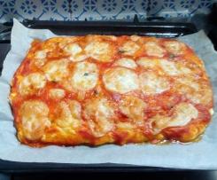 PIZZA SENZA GLUTINE E LATTOSIO