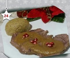 Brasato con Salsa alle Mele e Spumante brut - Natale