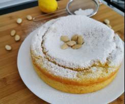 Torta Bimby limone ricotta e mandorle