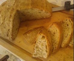 Pane misto a lievitazione naturale