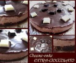 CHEESECAKE EXTRA-CIOCCOLATO (CON PANNA E MASCARPONE)