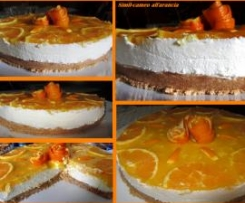 Cheesecake all'arancia (con Panna e Mascarpone)