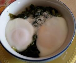 terrina di uova e spinaci al varoma