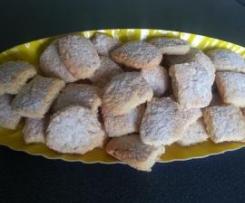 Biscotti friabili mandorlati