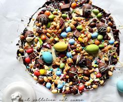 Tavoletta di cioccolato decorata - Pasqua