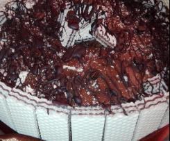 Torta wafers con cioccolato e caffe' - contest dolci della nonna