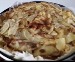Torta salata patate würstel