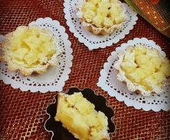 """Cestini mimosa con ananas caramellato """"contest buffet"""""""