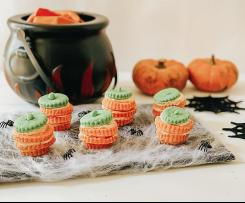 Zucchette di halloween - staffetta halloween