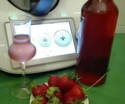FRAGONCELLO - liquore di fragole - cottura sottovuoto