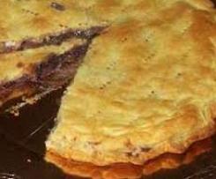 Torta salata con radicchio rosso di Treviso