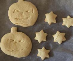 Biscotti dolci alla zucca