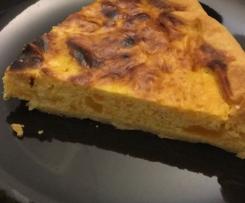Torta salata zucca e porri