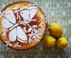 Torta allo yogurt al limone