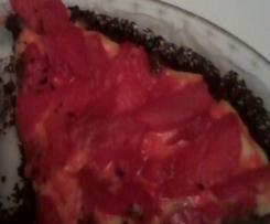 crostata finta di fragole