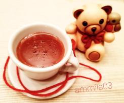 Cioccolata calda fondente con caramello salato - Contest cioccolata calda