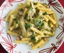 Sedanini con carciofi ( pasta risottata)
