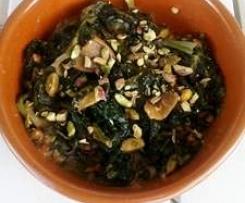 Stracciatella rustica di spinaci