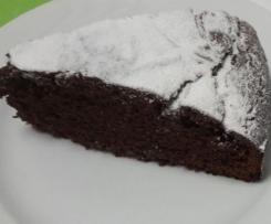 Torta fondente senza lattosio di Pic