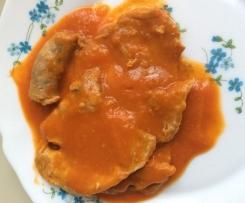 Intingolo di carne, fagioli e salsiccia