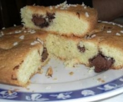 torta morbida di marmellata/cioccolato
