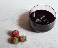 SALSA con Vino rosso  More e Miele a modo mio (contest creme dolci)