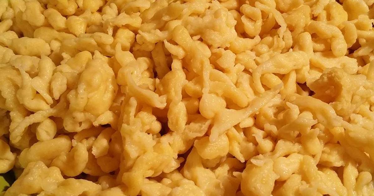 Spatzle bavaresi gnocchetti veloci tirolesi ricetta for Ricette primi piatti veloci bimby