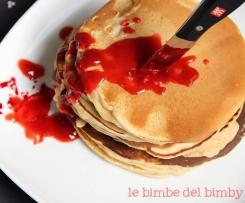 HALLOWEEN - Stabbed cinnamon pancakes della blogger Simona
