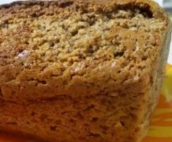 Plumcake semintegrale con ricotta e cioccolato