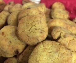 Biscotti al Mais e Datteri
