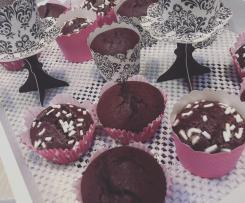 Muffin al cacao dal cuore morbido