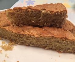 Torta di mandorle veloce senza lattosio e glutine (tipo pan di spagna)